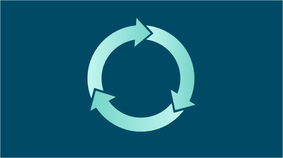 Closing the loop: a tale of circularity and elephants